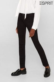 Esprit Medium Rise Slim Fit Woven Pants
