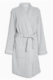 Cotton Rich Textured Spa Robe