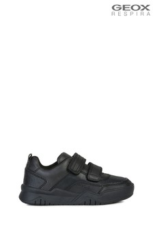 Geox Boy's Perth Black Shoes