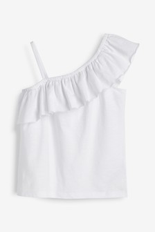 Ruffle Bardot Top (3-16yrs)
