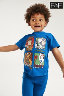 F&F Blue Toy Story Pyjama Set