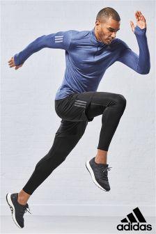 adidas Run Long Sleeved Half Zip Tee