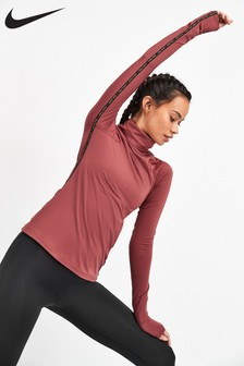 Nike Pro Warm Golden Fierce Long Sleeved Top