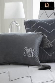 Laurence Llewelyn-Bowen Concierge Embroidered Tassel Cushion