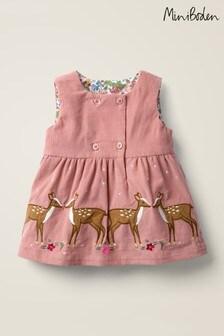 Boden Pink Appliqué Dress