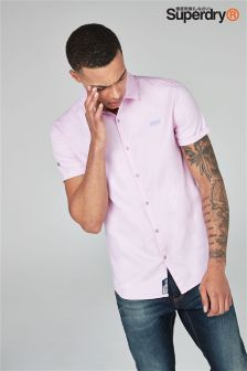 Superdry Oxford Short Sleeve Shirt