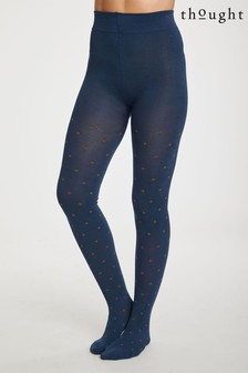 Thought Blue Spot Tights