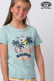 Animal Green Maui Graphic T-Shirt