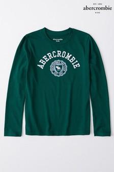 Zielona koszulka Abercrombie & Fitch