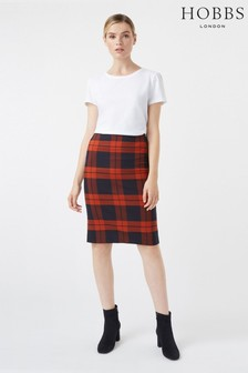 Hobbs Blue Rene Skirt