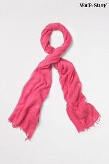 White Stuff Pink Foil Sun Dreaming Away Scarf