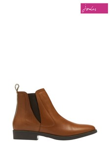 Joules Brown Chelsea Boots