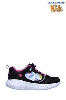 Skechers® Black Go Run Fast Miss Crafty Trainers