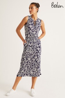 Boden Blue Eliza Jersey Midi Dress