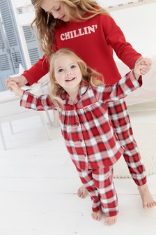 Check Woven Pyjamas (9mths-8yrs)