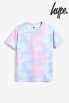 Hype. Unicorn Camo Short Sleeve T-Shirt
