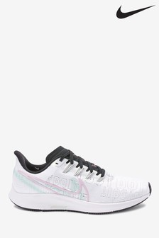 Nike Run White/Lilac Air Zoom Pegasus 36 PRM Trainers