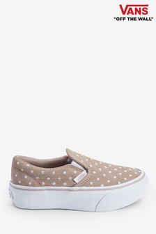 Vans Youth Polka Dot Slip-Ons
