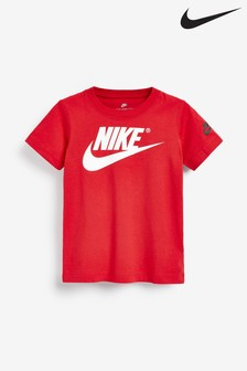 Nike Little Kids Red Futura T-Shirt