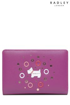 Radley Magenta South Grove Medium Ziptop Purse