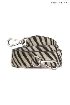 Mint Velvet Zebra Print Bag Strap