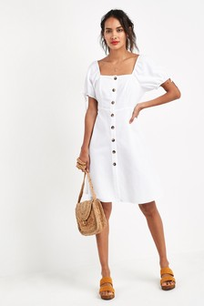 Square Neck Dress