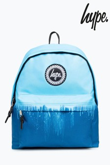 Hype. Blue Drips Backpack