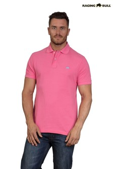 Raging Bull Pink New Signature Polo