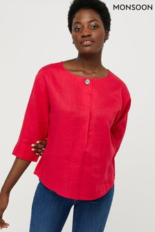 Monsoon Scarlet Blouse