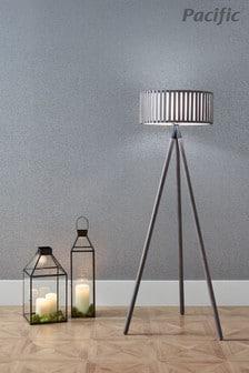 Rabanne Antique Wood Slat Tripod Floor Lamp by Pacific Lifestyle