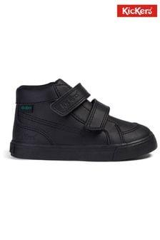 Kickers Infants Tovni Hi Velcro Leather Shoes