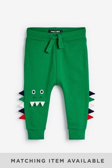 Dino Knee Detail Joggers (3mths-7yrs)