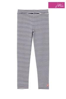 Joules Blue Annie Ribbed Leggings