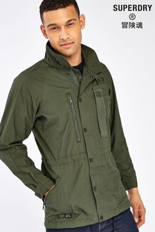 Superdry Olive Utility Field Jacket