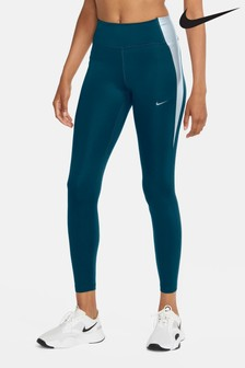 Nike One Metallic Colour Block Leggings