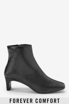 Forever Comfort® Heeled Ankle Boots