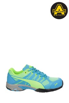 Puma® Safety Blue Celerity Knit Ultra Lightweight Safety Trainers