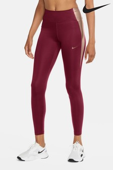 Nike One Metallic Colour Block Leggings
