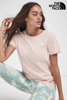 The North Face® Pink Simple Dome T-Shirt