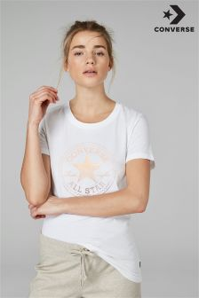 Converse White Foil Chuck Patch Tee