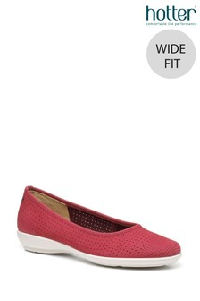 Hotter Livvy II Wide Fit Slip-On Pump Shoes