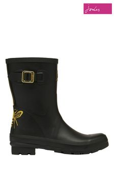 Joules Molly Welly Mid Height Printed Wellies