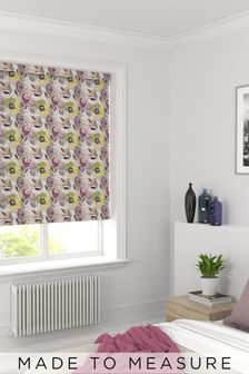 Dolce Vita Pink Floral Made To Measure Roller Blind