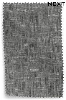 Bouclé Weave Dark Grey Upholstery Fabric Sample