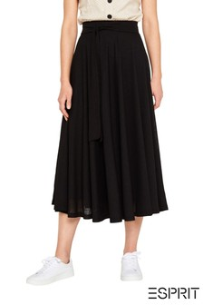 Esprit Black Maxi Skirt