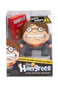The Hangrees Harry Plopper Collectible Parody Figure With Slime
