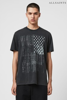 AllSaints Black Star T-Shirt