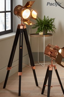 Hereford Tripod Floor Lamp by Pacific Lighting