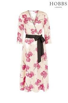 Hobbs Pink Nina Dress