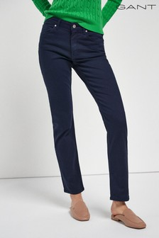 GANT Blue Slim Twill Jeans